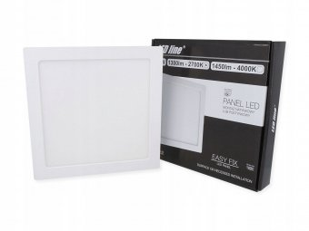 LEDline Panel LED 18W 2700K
